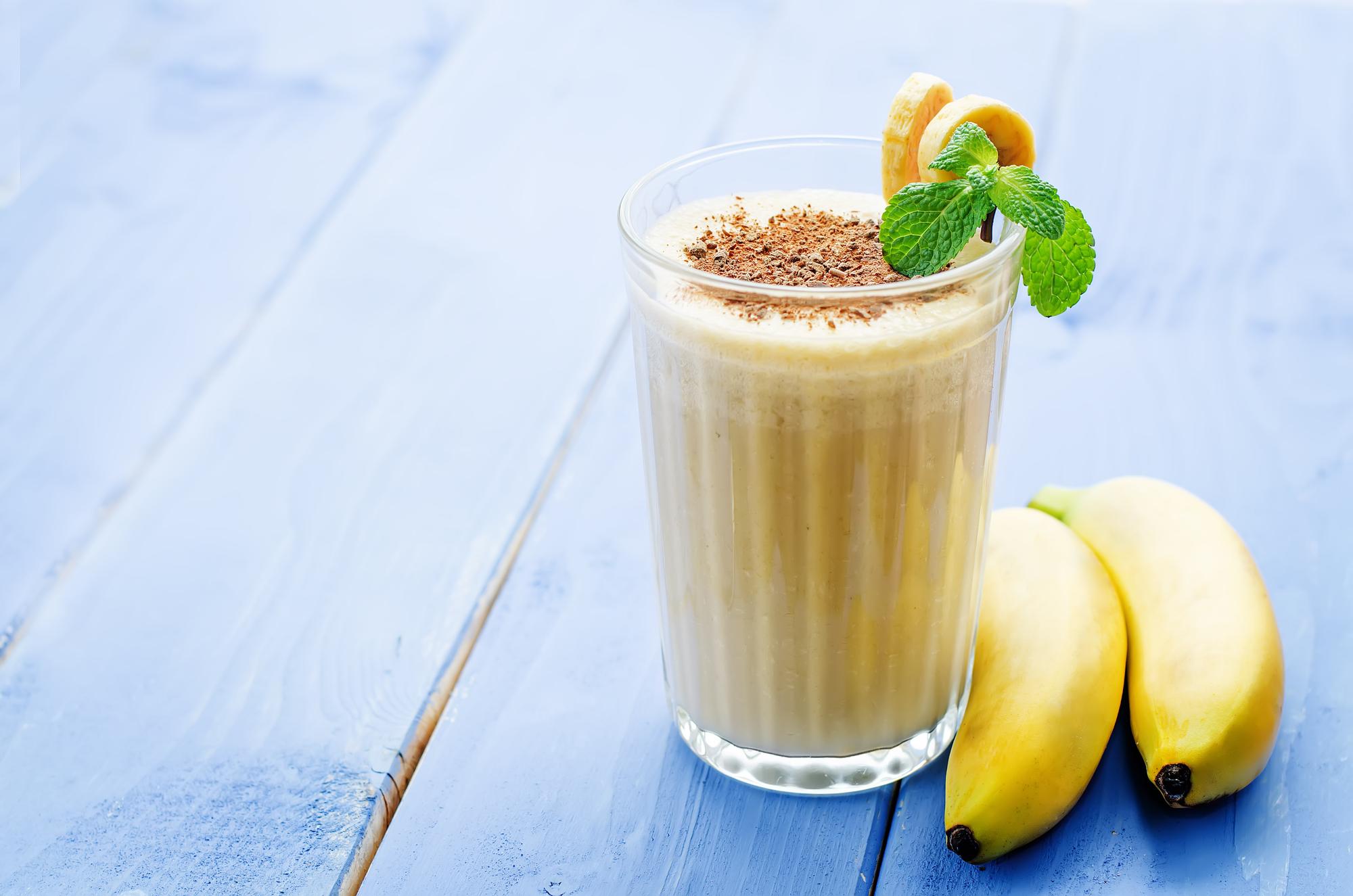 Banánové snění recept