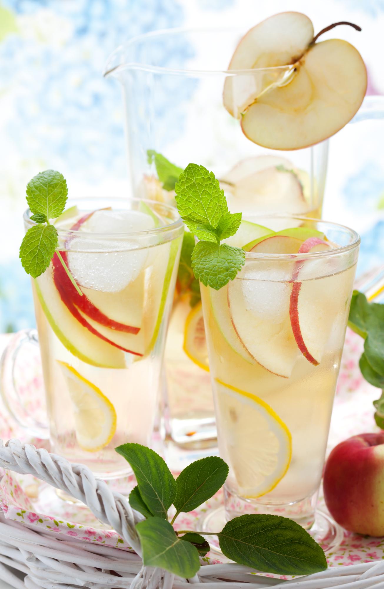 Jablečná limonáda recept