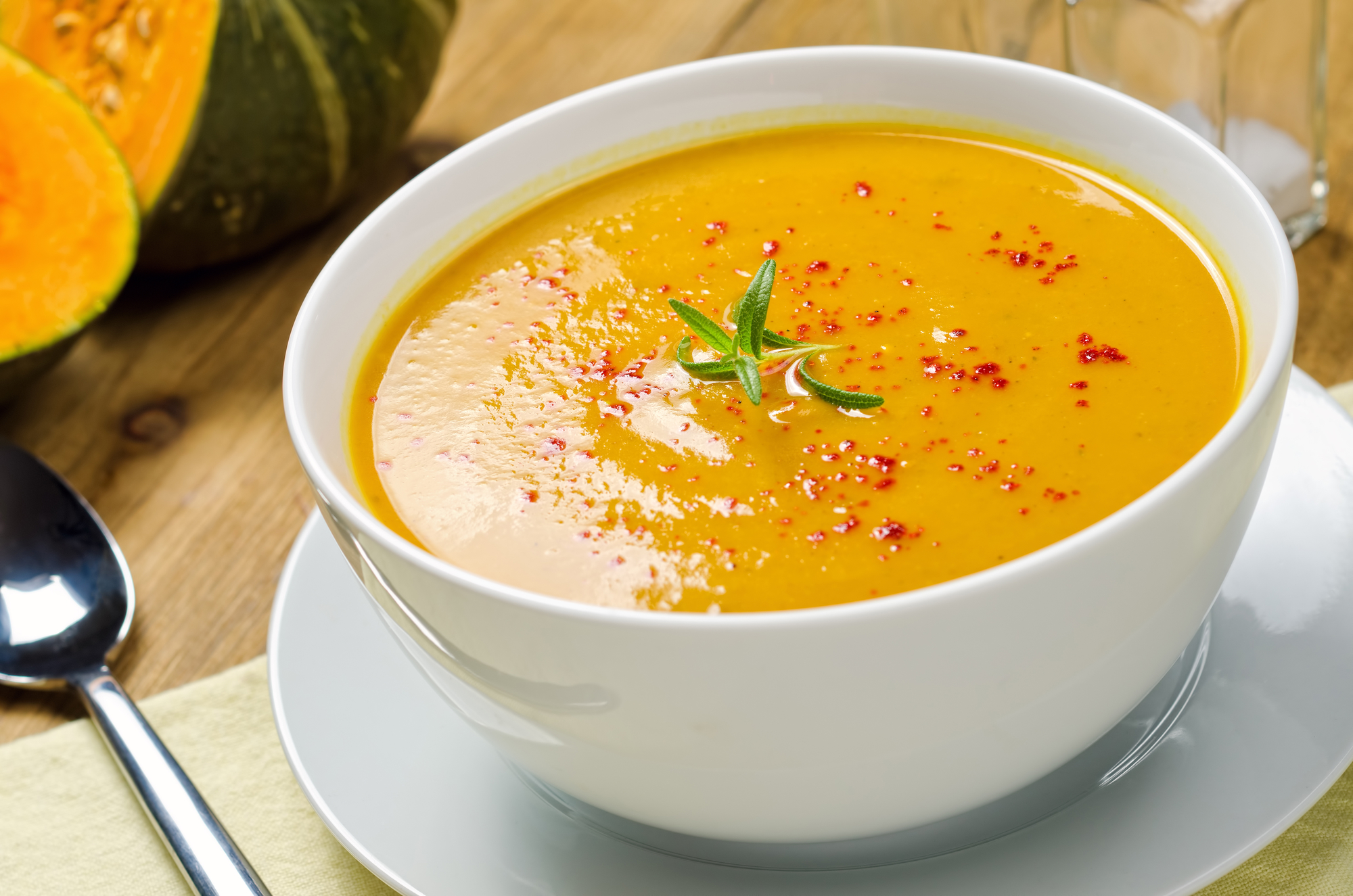 Jednoduchá dýňová polévka recept