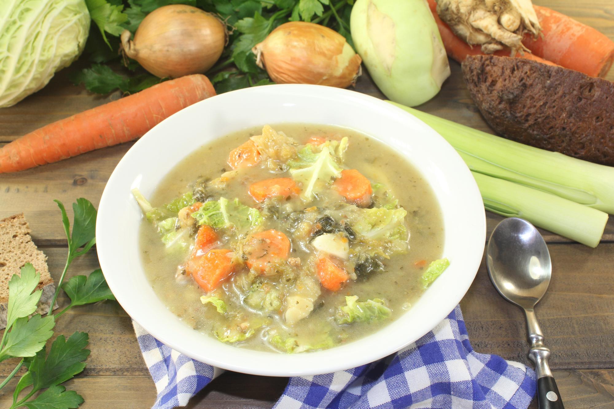 Kapustová polévka recept