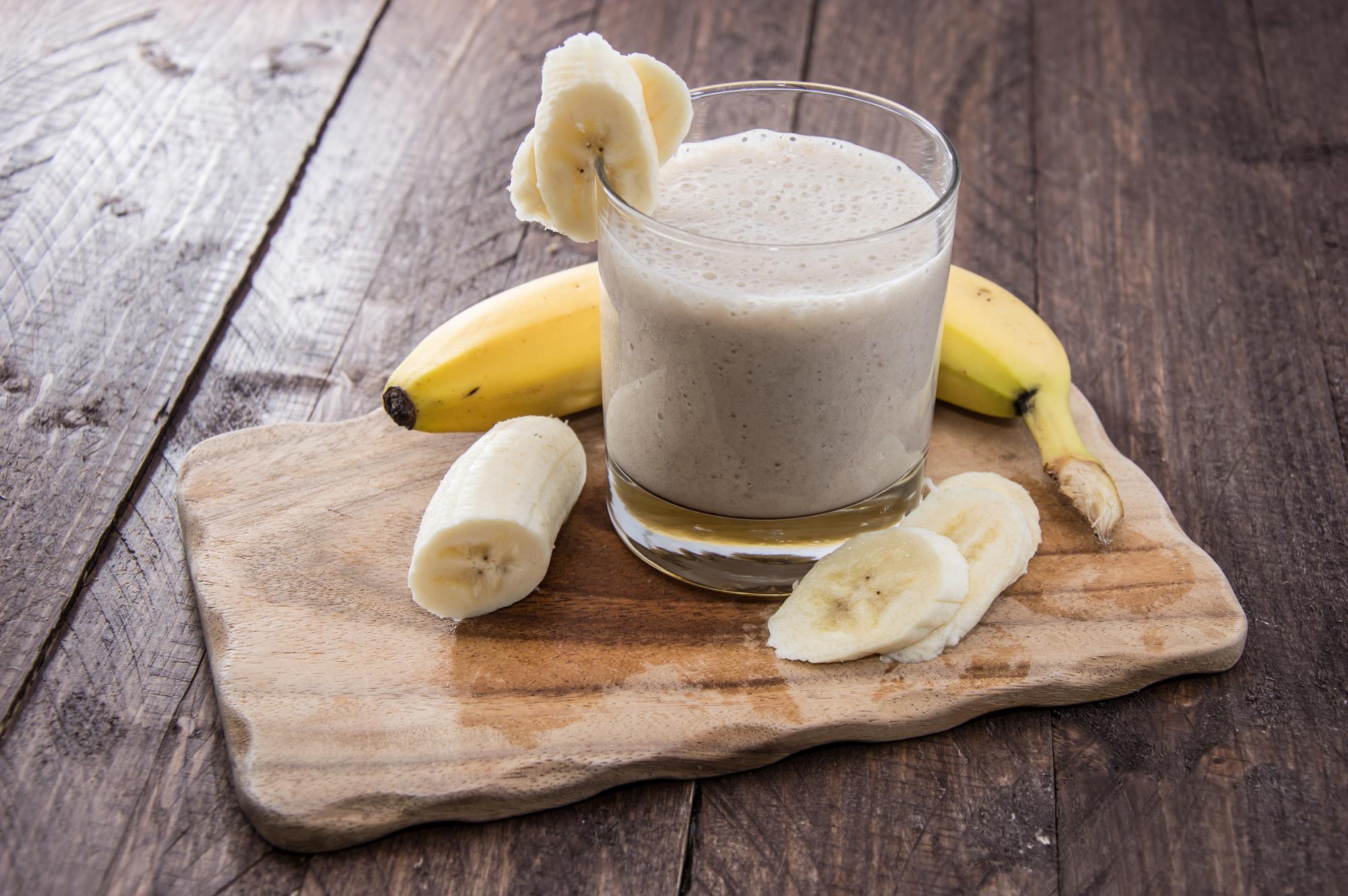 Mandlovo-banánový koktejl recept
