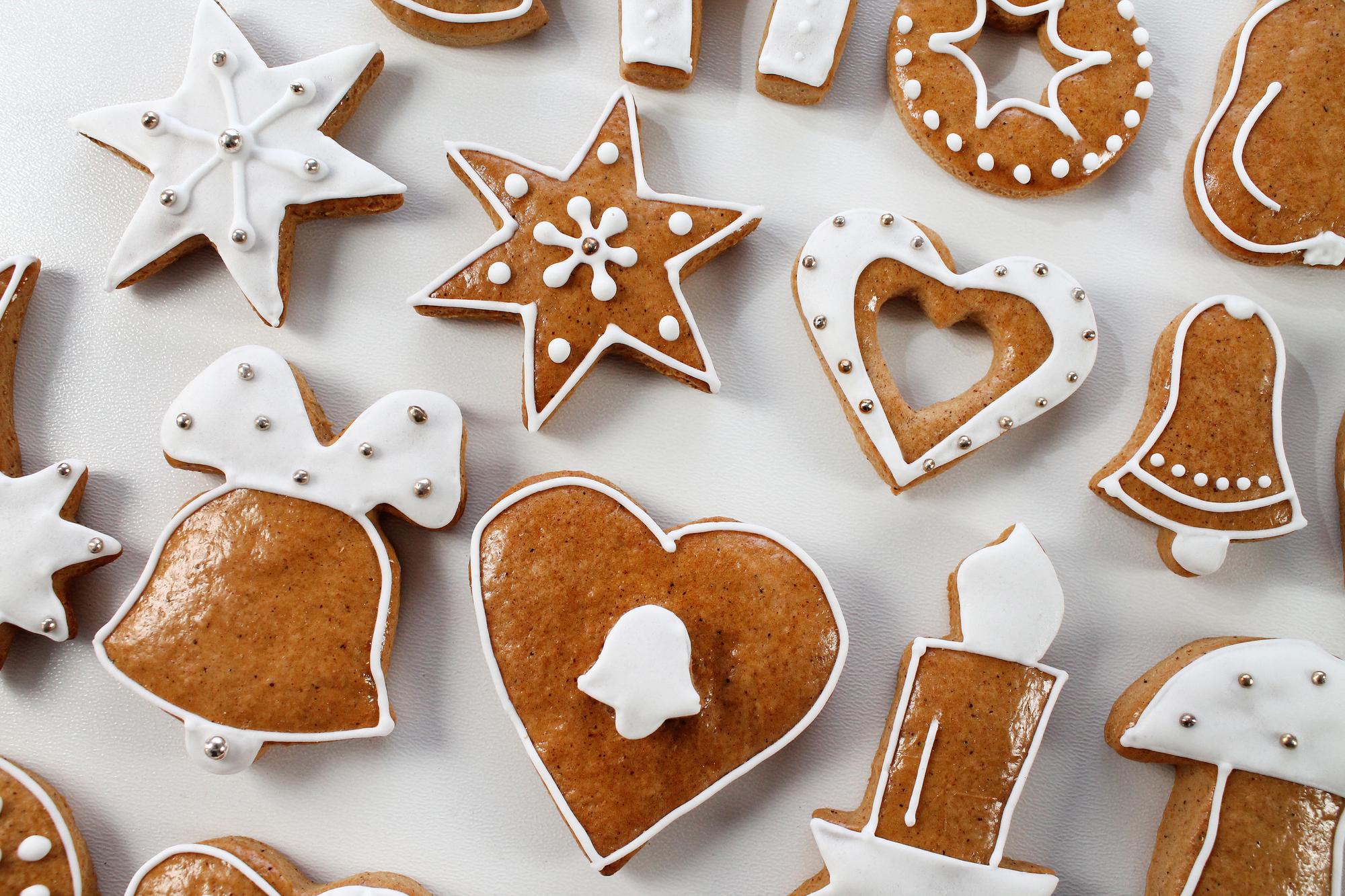 Měkké vánoční perníčky recept