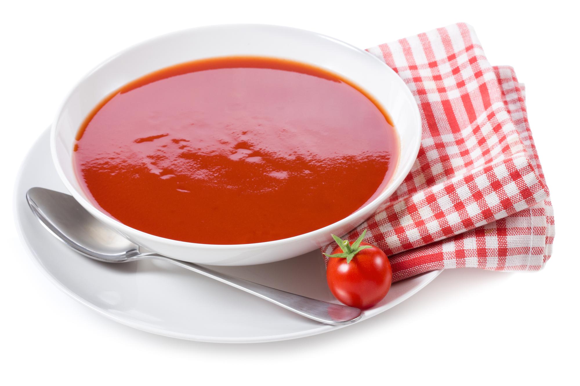 Rajská polévka s noky recept