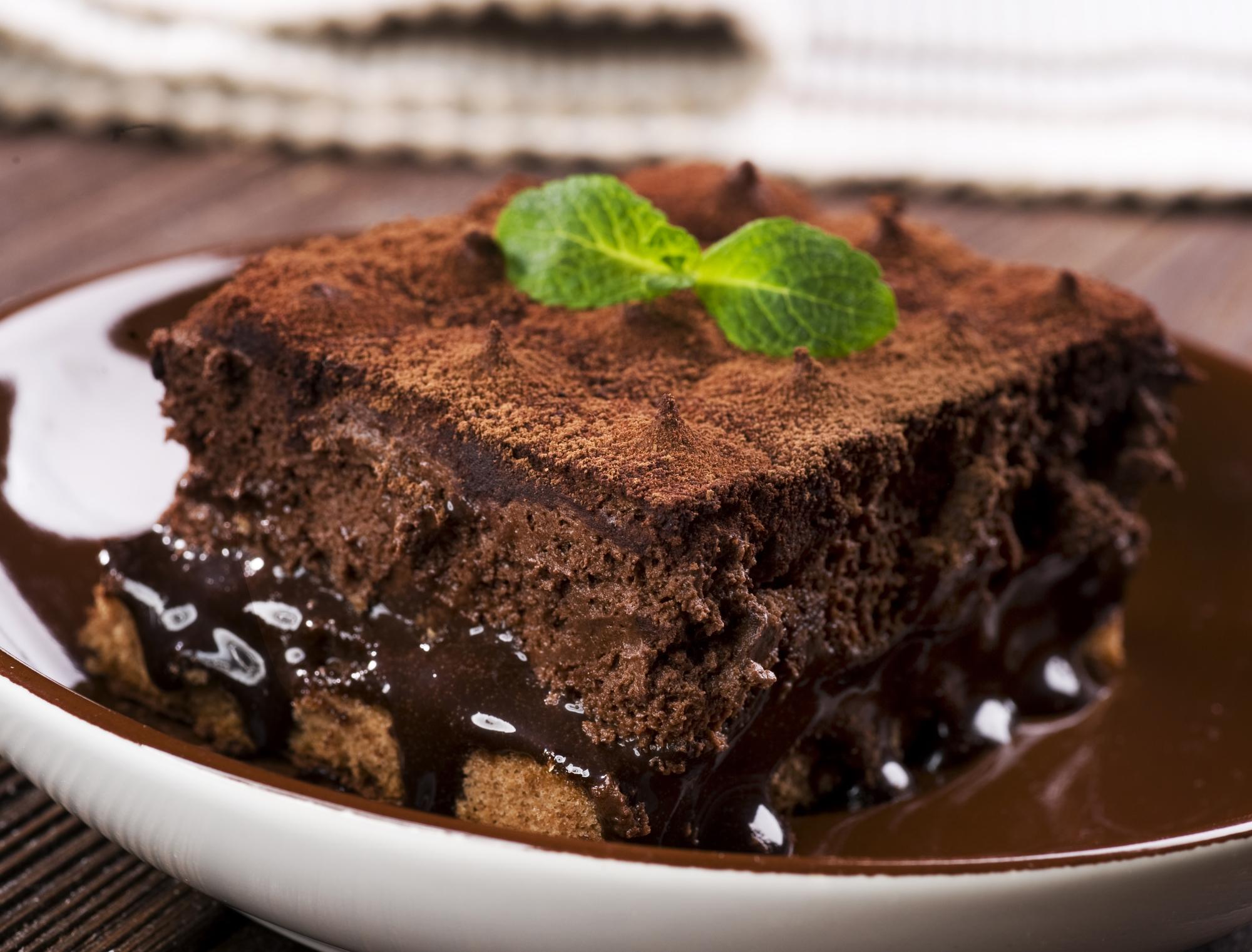 Rumová čokoládová poleva na moučník recept