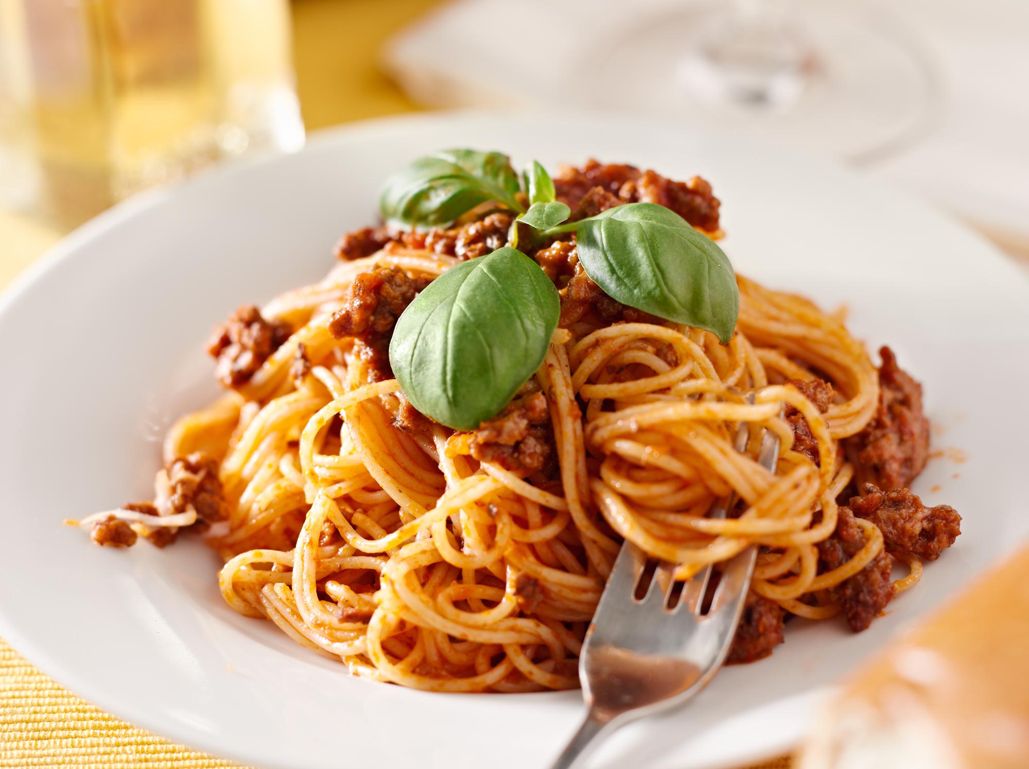 Vynikající boloňské špagety recept