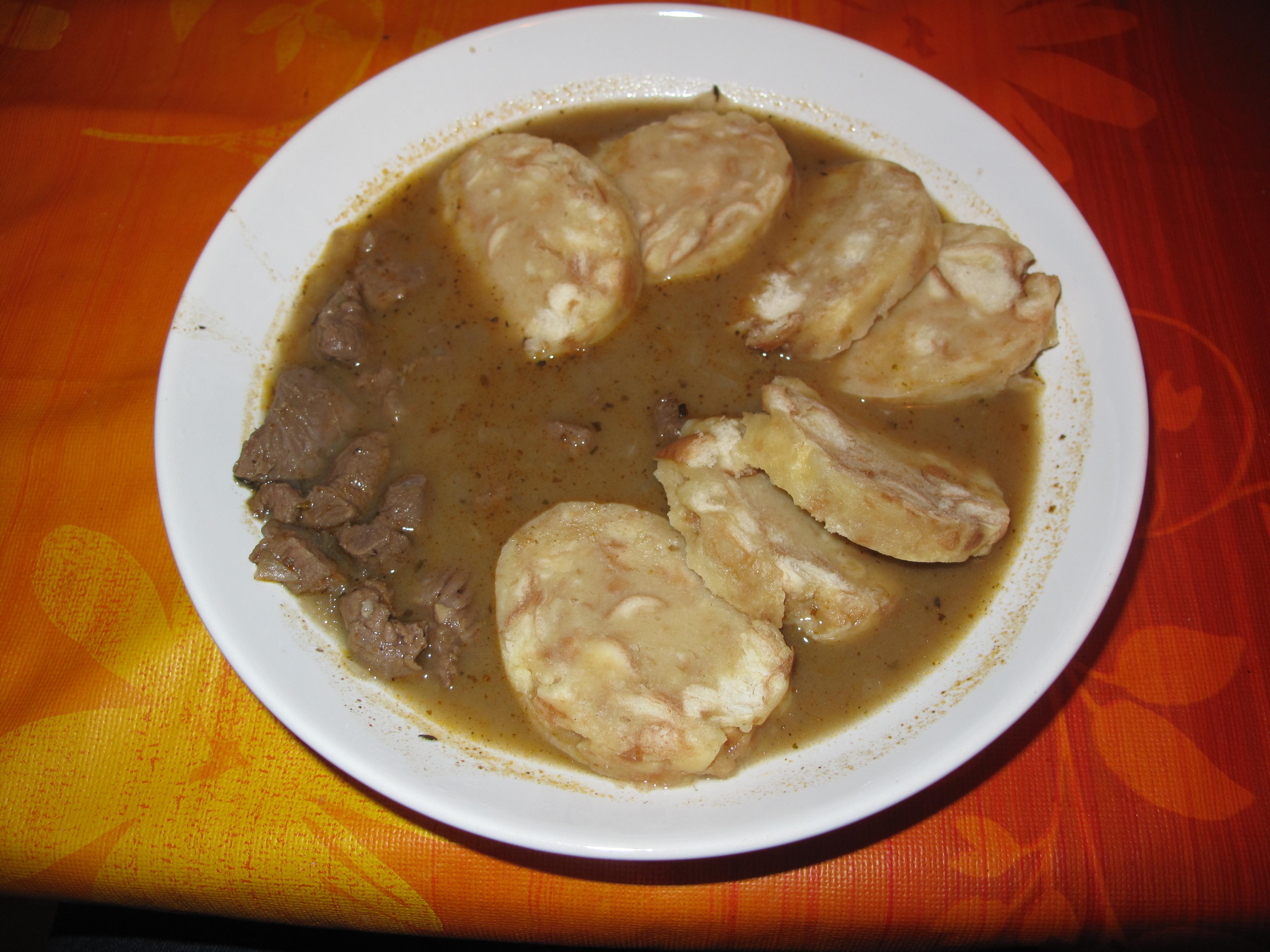 Vynikající karlovarský knedlík recept